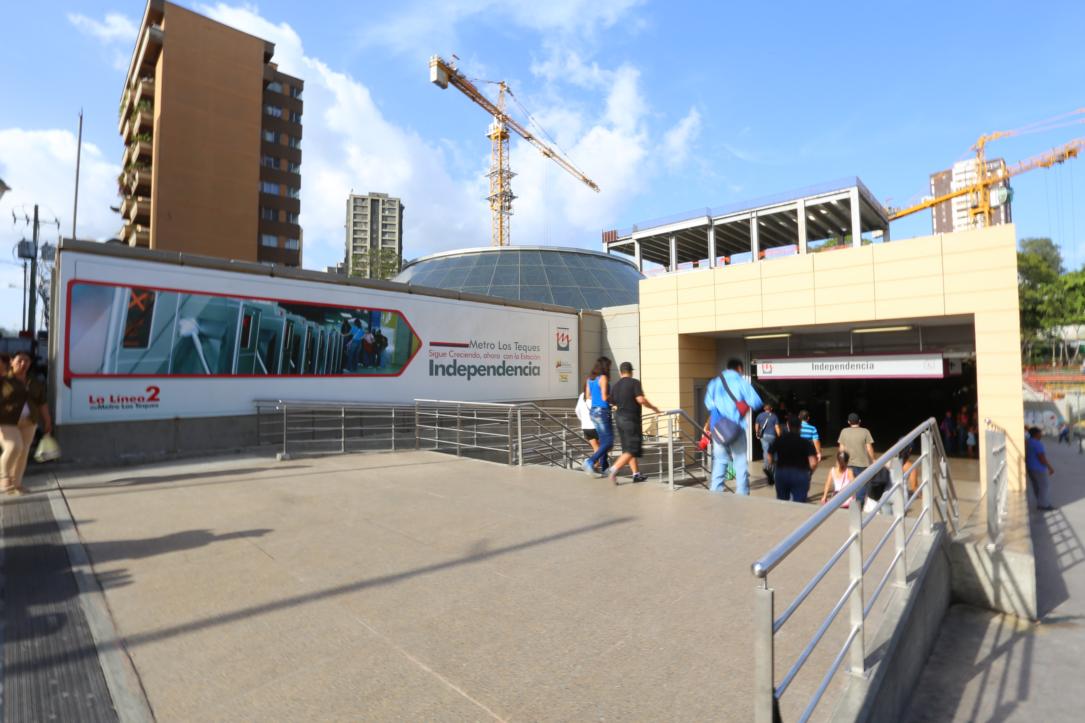 Este lunes no presta servicio estación Independencia del Metro Los Teques