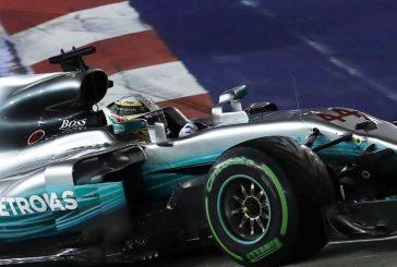 Hamilton se alza con el GP de Singapur con un Vettel accidentado
