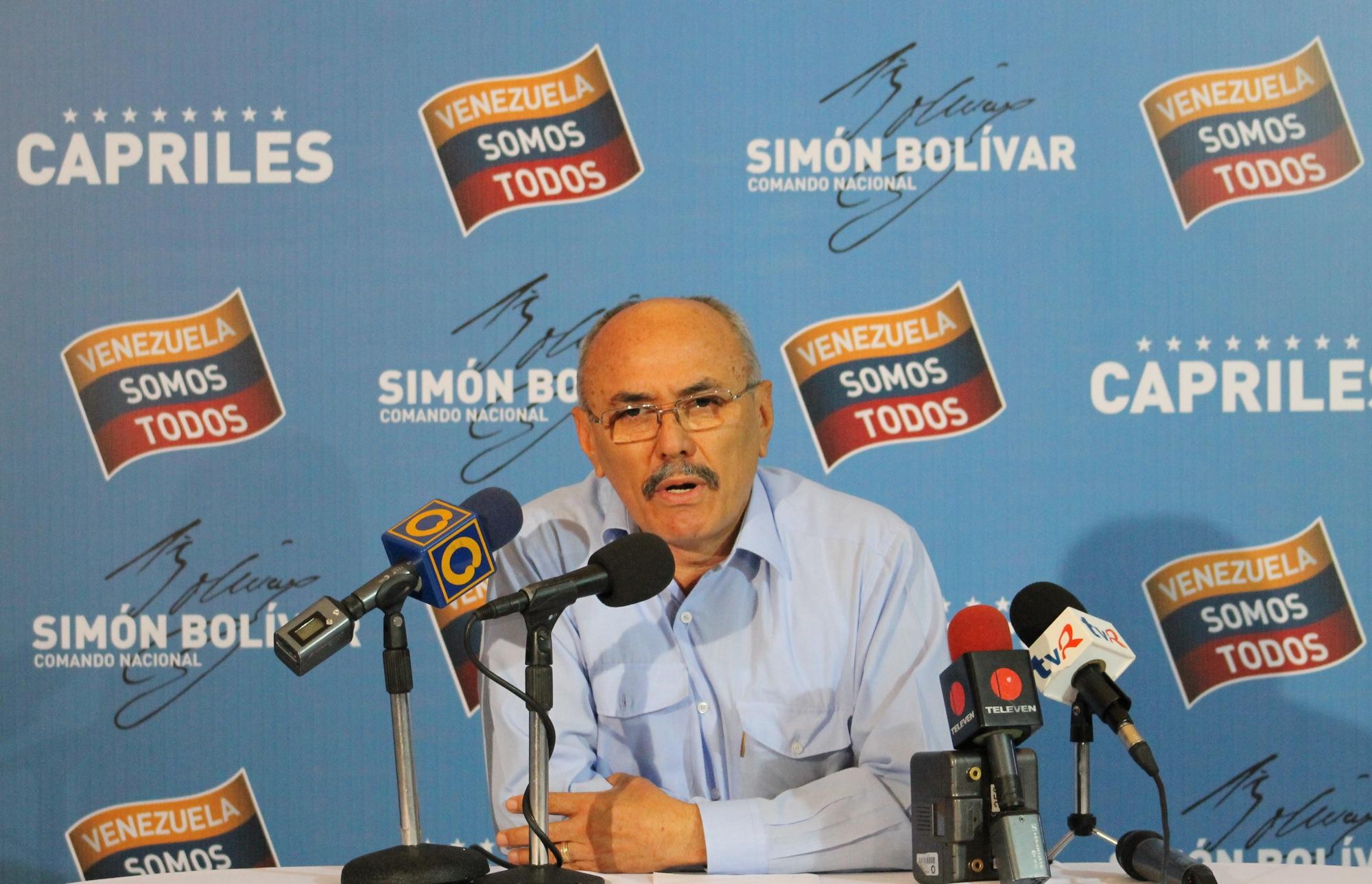 Ismael García exige a la Comisión Nacional de Primarias que dé resultados oficiales en Aragua