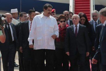 Presidente Maduro hace parada en Argelia durante viaje a Kazajistán