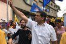 Ocariz recorrió tres municipios