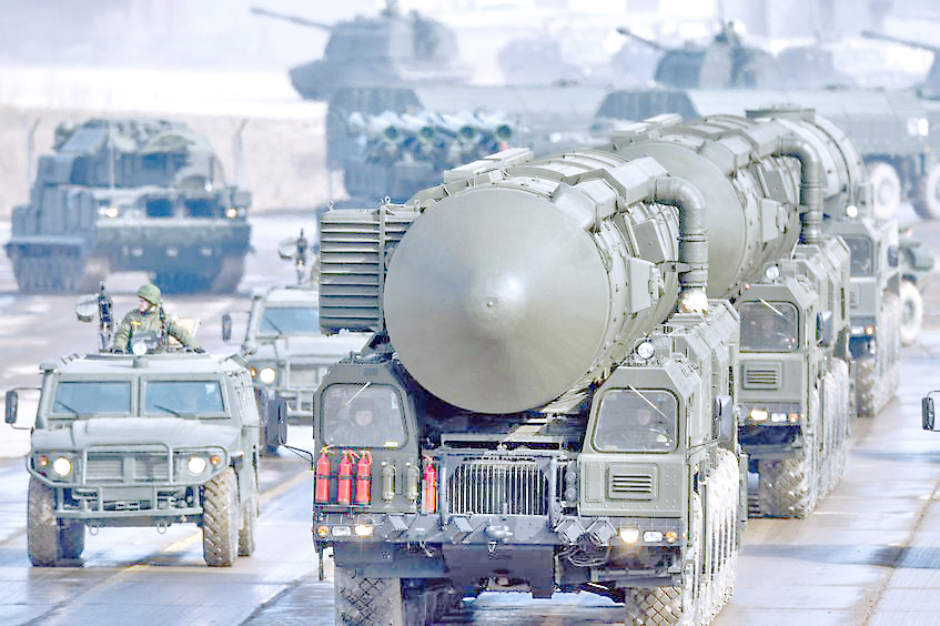 Rusia lanzó con éxito un misil  balístico intercontinental