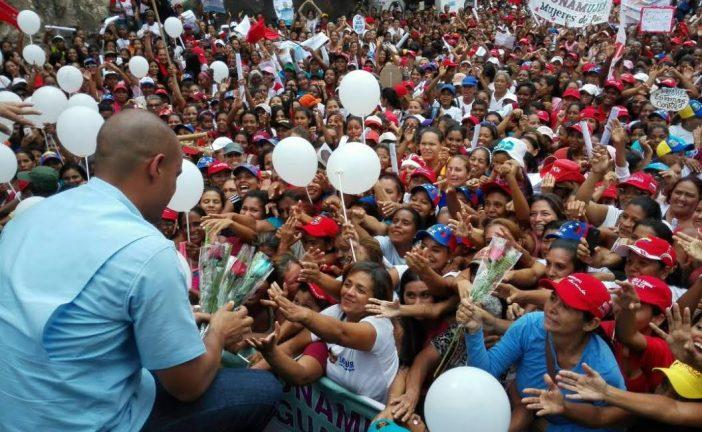 Rodríguez resteado con las mujeres