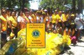 Club de Leones realizó jornada de limpieza en Anare por el Día Mundial de las Playas