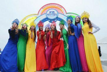 Con desfile multitudinario comenzó Festival Mundial de la Juventud