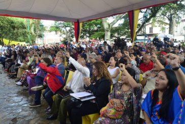 Asamblea Nacional Constituyente debatió propuestas del Capítulo Juventud