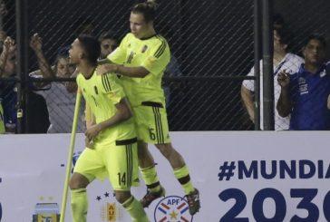 Venezuela ganó y le arruinó el sueño a Paraguay