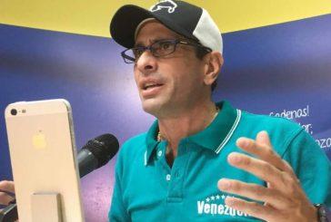Capriles exigió al CNE no retrasar publicación de resultados