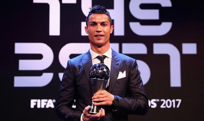 Cristiano Ronaldo vuelve a ser The Best