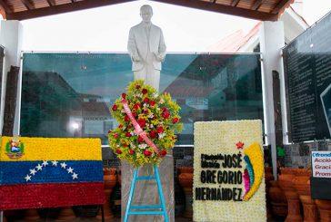 Feligreses conmemoraron 153 aniversario del natalicio de José Gregorio Hernández