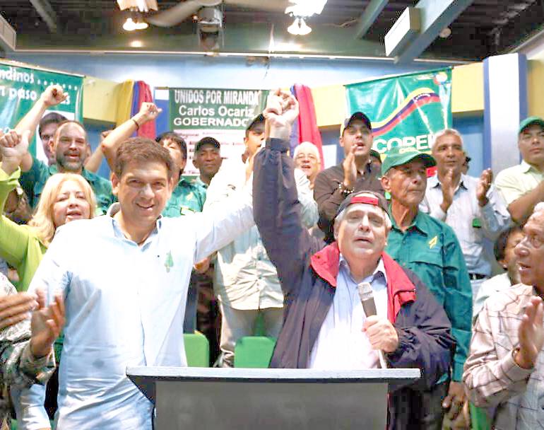 Mendoza: Miranda continuará como bastión de la democracia
