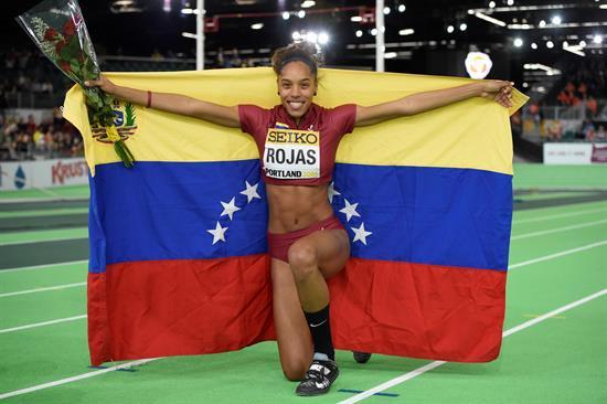 Yulimar Rojas es finalista al premio atleta revelación del año