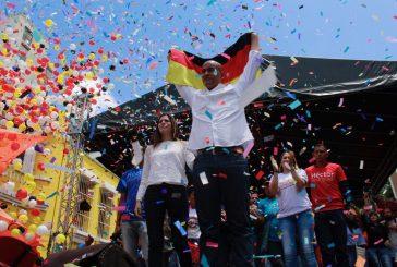 Hector Rodriguez  venció por el 52.54% al Alcalde de Sucre Carlos Ocariz