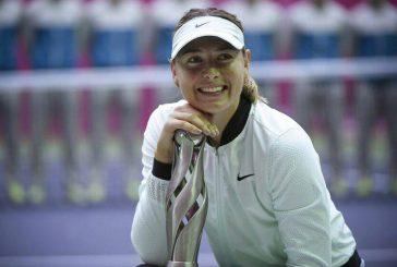 Sharapova ganó su primer título luego de volver tras sanción por dopaje