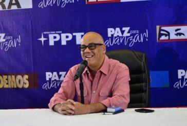 """Jorge Rodríguez: """"El pueblo de Venezuela habló y votó para garantizar la paz"""""""