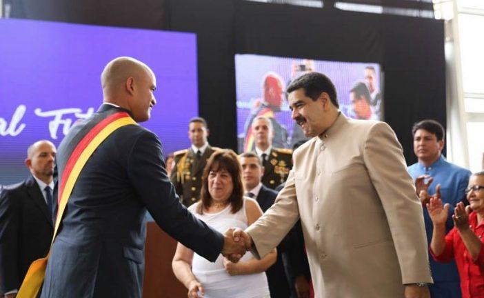 Maduro entregó competencias al gobernador de Miranda, Héctor Rodríguez