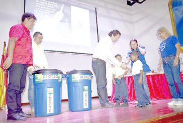 Gobierno municipal lanzó plan de reciclaje en 25 escuelas pilotos