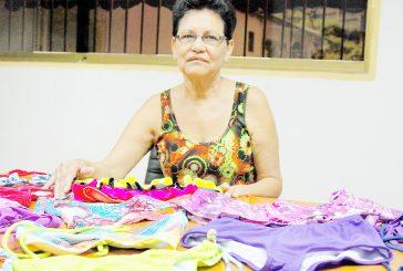 Miriam Adrián, una especialista  de la moda playera