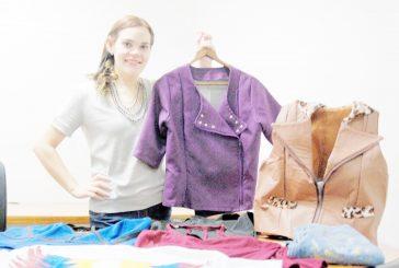 Maryestela Fehr Ziegler, impone su  estilo como diseñadora de modas