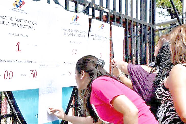 CNE: Reubicados 199 centros de votación para comicios del 15-O