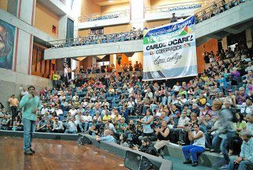 Ocariz pide apoyo a empleados  regionales