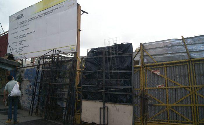 Mercado Hugo Chávez verá luz en un año