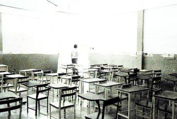 Seis salones de la Escuela  Taller no tienen luz