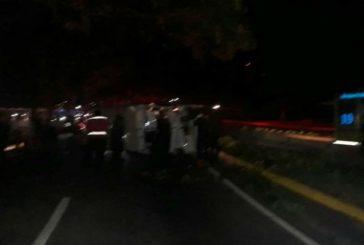 Accidente de autobús dejó ocho heridos en Maiquetía