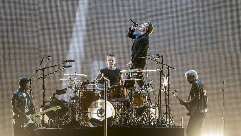 Banda U2 realizó homenaje a García Márquez