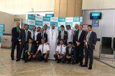 Avión saudí aterriza en Bagdad por vez primera en 27 años