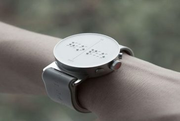 El primer reloj inteligente en braille