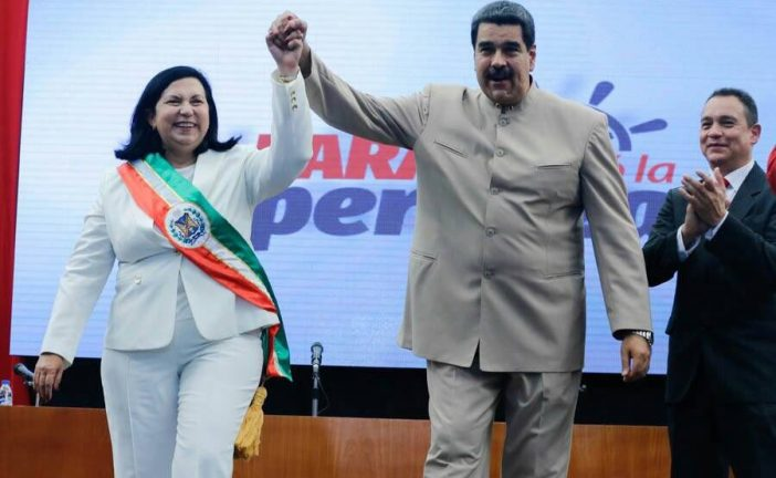 Carmen Meléndez fue juramentada como gobernadora de Lara