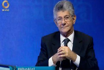 Ramos Allup: Almagro está completamente equivocado