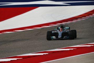 Hamilton domina los primeros ensayos libres del GP de EEUU
