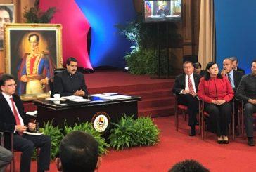 Presidente Maduro ofrece rueda de prensa a medios internacionales