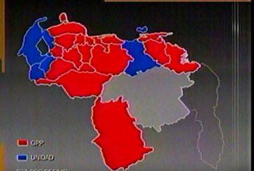 CNE: Chavismo ganó 17 gobernaciones en todo el país