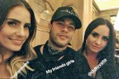 Neymar Jr, de fiesta con Demi Lovato tras el Inglaterra – Brasil