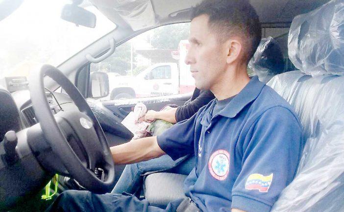 Activan cuatro ambulancias en el HVS