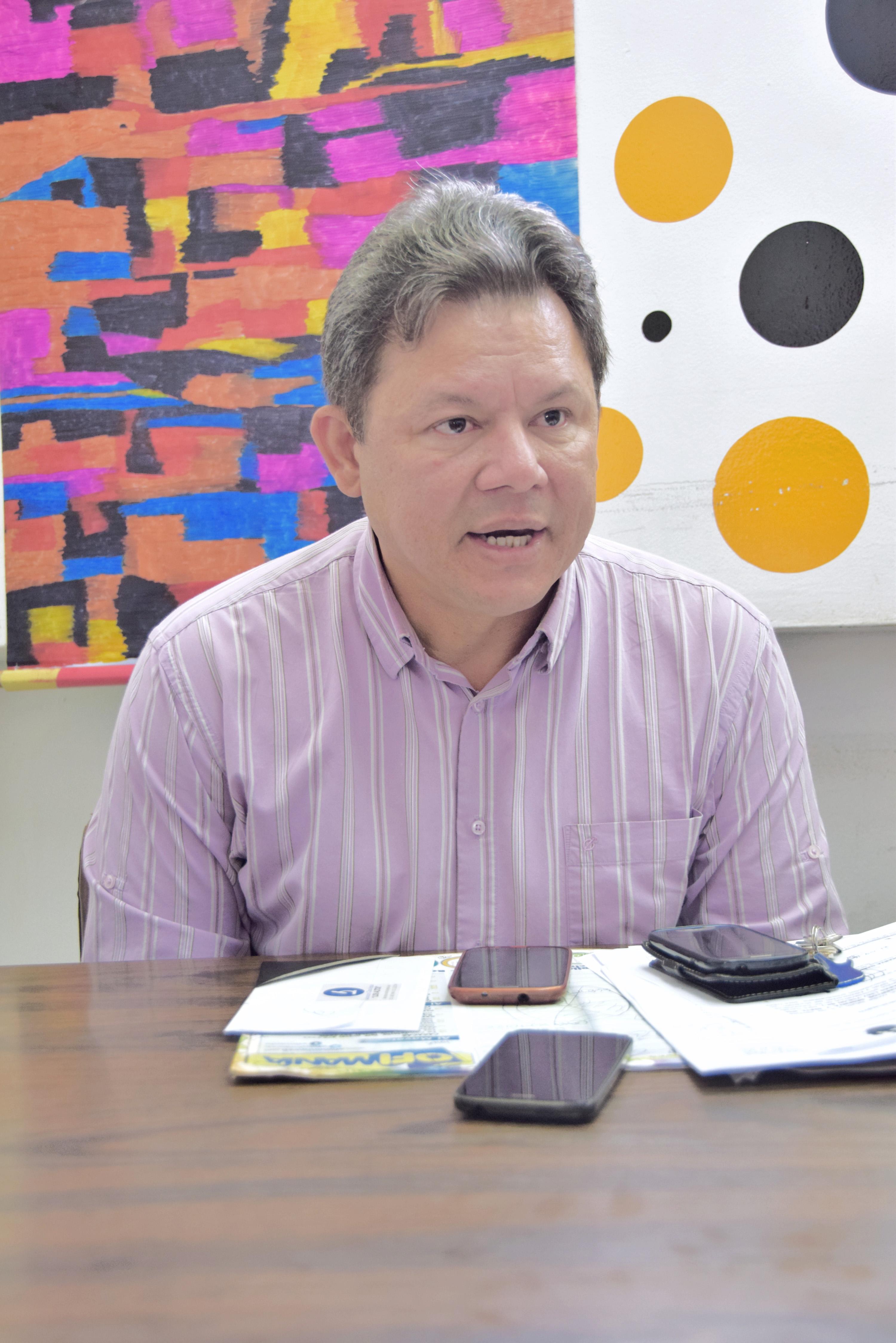 Oswaldo Mora, militante de PJ y concejal de la Cámara de Los Salias