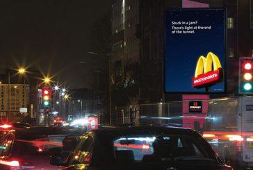 McDonald's utiliza los datos de tráfico para adaptar sus vallas publicitarias