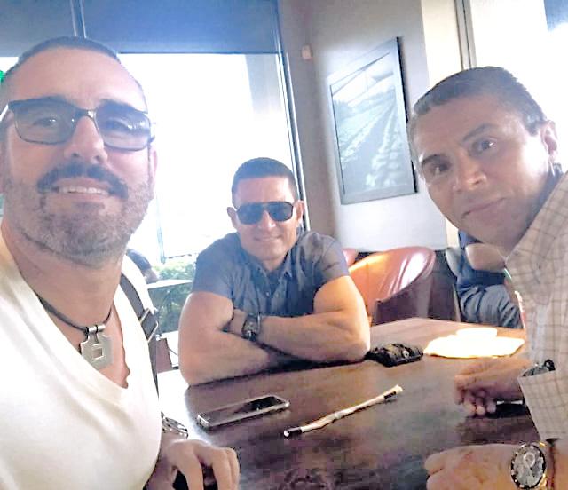 Reaparece Fernando Colunga  tras larga ausencia