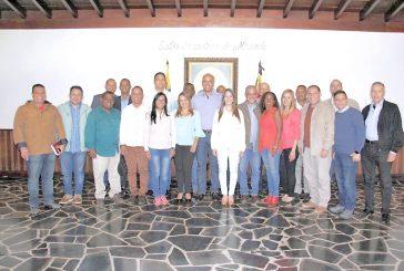 Rodríguez se reunió con candidatos del PSUV