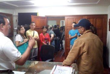 Alcalde José Luis Rodríguez y representantes del C.E.I.N Cacique Epoima  unen esfuerzos para frenar ola de robos