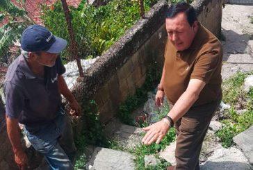Alcalde de Carrizal José Luis Rodríguez entregó materiales de construcción en la comunidad de Potrerito I