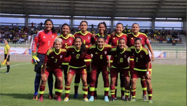 Vinotinto Sub 20 Femenina debutó con empate ante Perú