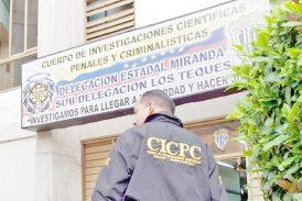 Cae abatido choro en enfrentamiento con el Cicpc Cae abatido choro en enfrentamiento con el Cicpc