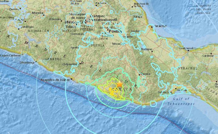 Un nuevo terremoto de magnitud 6 sacude el centro y el sur de México