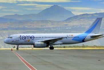 Aerolínea ecuatoriana Tame canceló operaciones en Venezuela