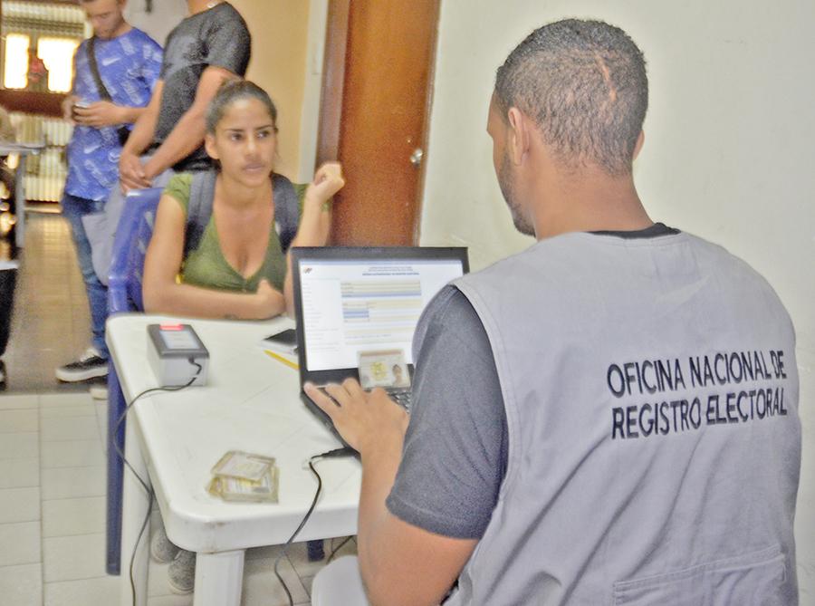 CNE realizará jornada especial  de registro hasta el martes 20