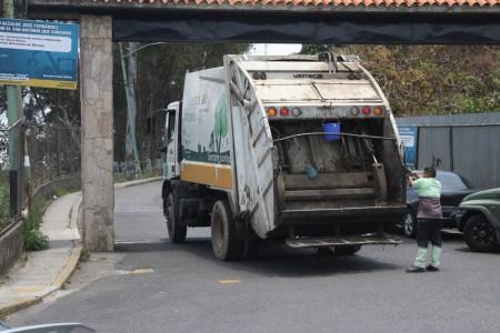 Recolección de basura en  Los Salias se mantiene con fallas